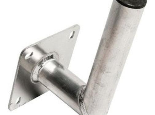 Blueqon Blueqon WML-A25 50mm (25cm) Aluminium L Muurbeugel
