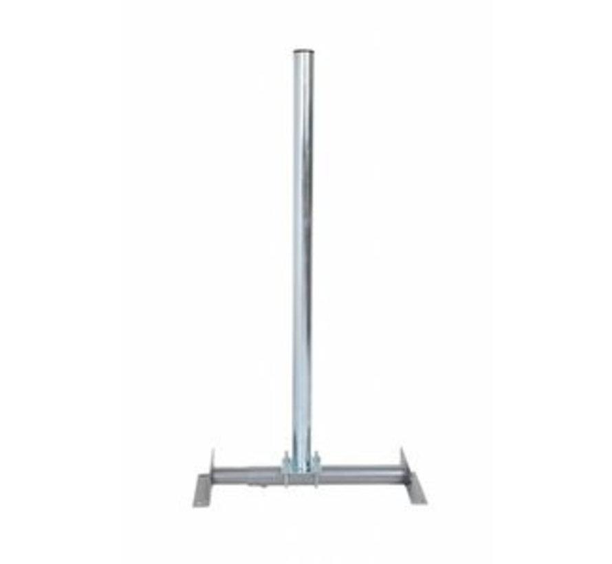 Schuin Dakmontage 52-90cm / 60mm mast
