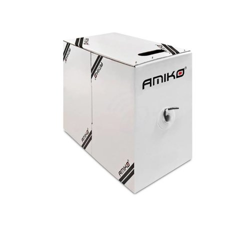 Amiko Amiko Cat6 FTP CCA 305 - FTP (1 GBPS - Foil shielded) 305 Meter