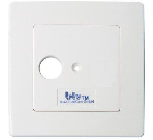 Braun Braun Telecom BTV01-UPC enkelgats einddoos incl. afdekplaat