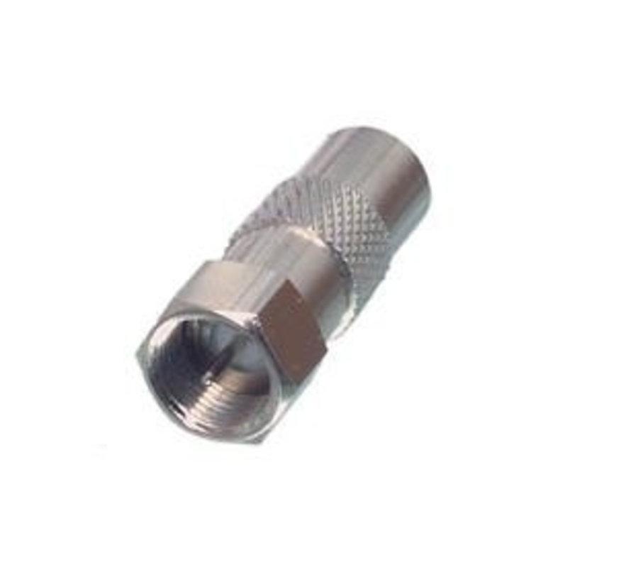F-connector naar male adapter