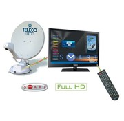 "Teleco Teleco Flatsat Elegance SMART 65cm+TH2/19""LED/DVD"