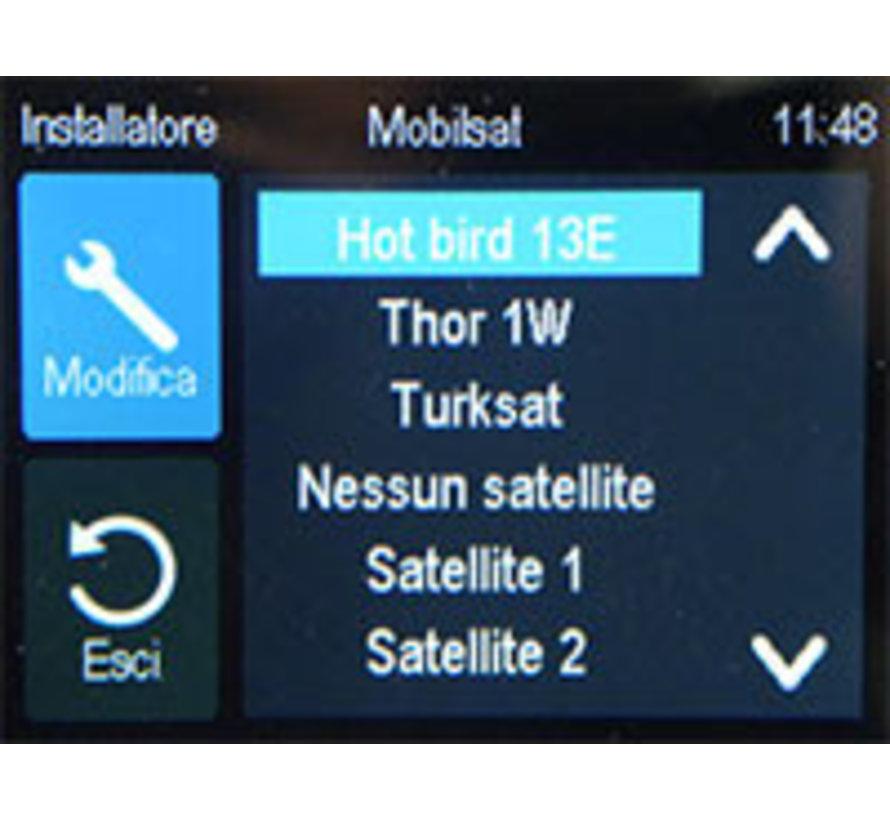 Display Mobilsat/Satenne R2