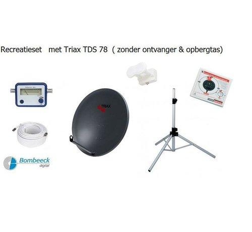 Travelsat TravelSat TS-78DS Recreatieset Duo Single lnb zonder tas