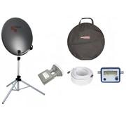 Travelsat TravelSat TS-64DS Recreatieset Duo Single lnb + draagtas