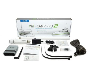 Alfa Alfa Network 4G-Camp Pro2 Set Tube U4G Antenne + R36A Router