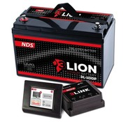 NDS NDS 3LIONSYSTEM Lithium Accu 12V-150Ah + 3LINK 150A 3L-150-P