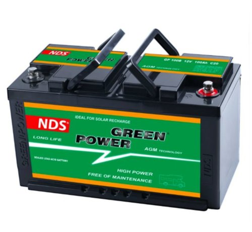 NDS  NDS GREENPOWER Service Accu AGM 12V 100Ah Ducato