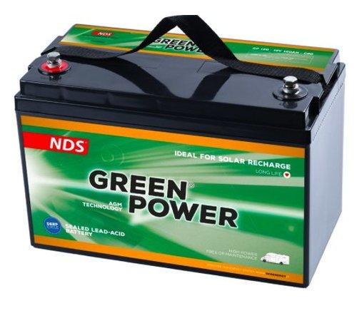 NDS  NDS GREENPOWER Service Accu AGM 12V 120Ah GP120
