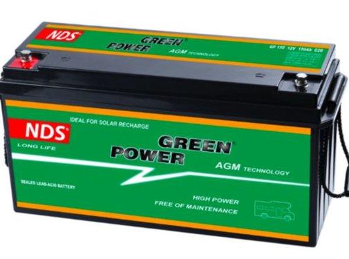 NDS NDS GP 150 Service Accu AGM 12V 150Ah 485 * 172 * 240hv
