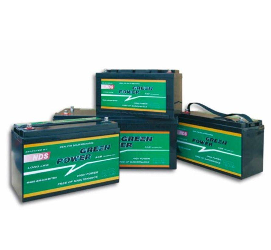 NDS GP 210 Service Accu AGM 12V 210Ah 522 * 238 * 236h