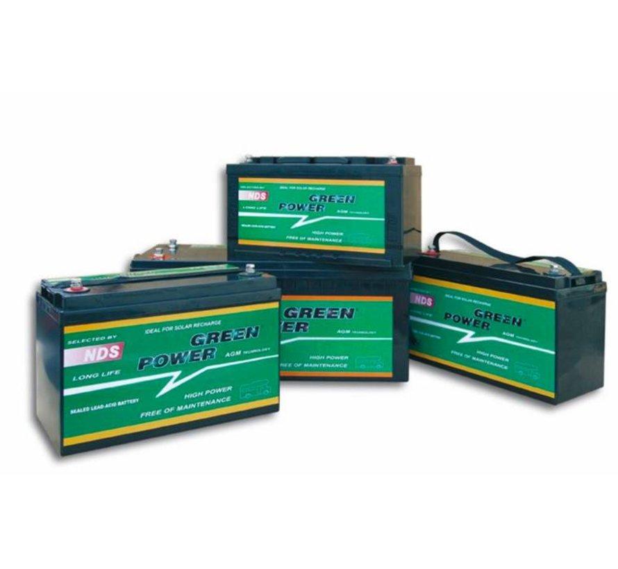 NDS GP 90 Service Accu AGM 12V 90Ah 306 * 169 * 215h