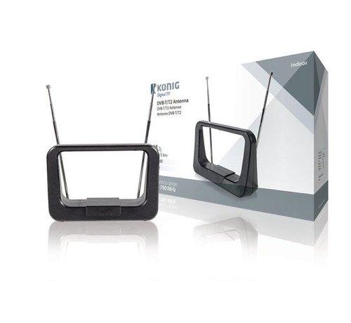 König Binnen DVB-T/T2 Antenne 8 dB VHF / UHF