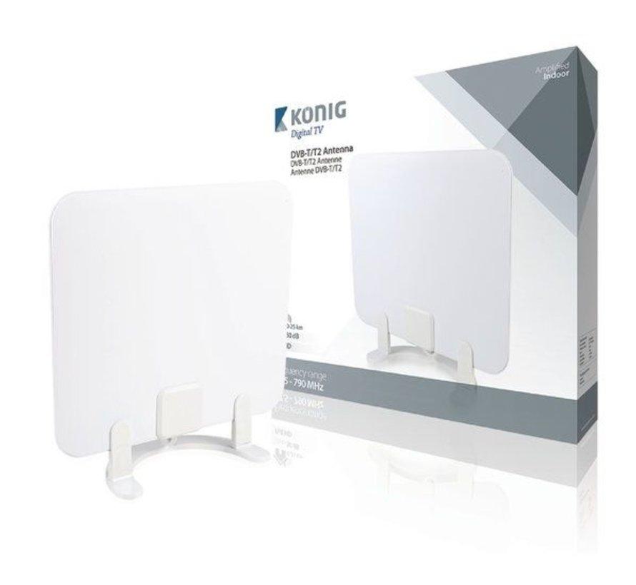DVB-T/T2 Binnen Antenne 30 dB VHF / UHF