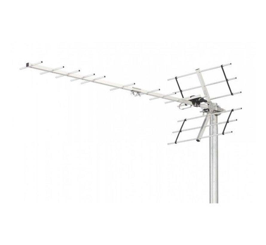 DVB-T/T2 Buitenantenne 13.5 dB UHF