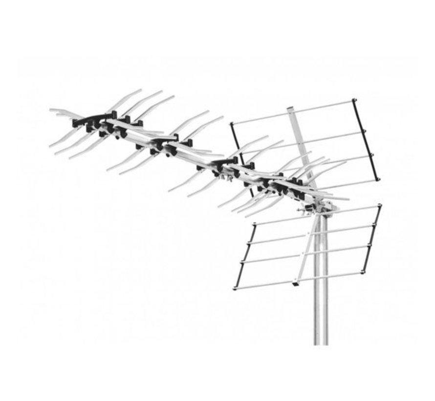 DVB-T/T2 Buitenantenne 14.5 dB UHF