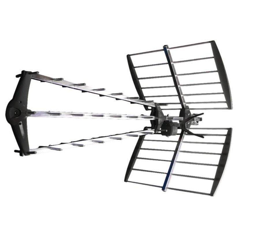 DVB-T/T2 Buitenantenne 15.5 dB UHF