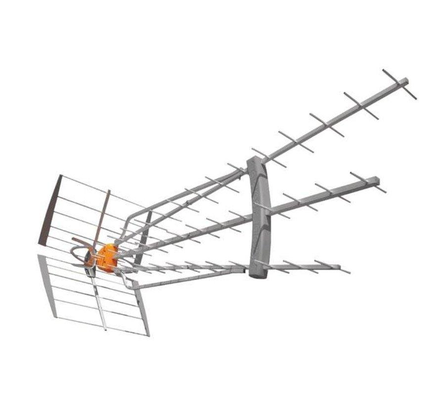 DVB-T/T2 Buitenantenne 47 dB UHF