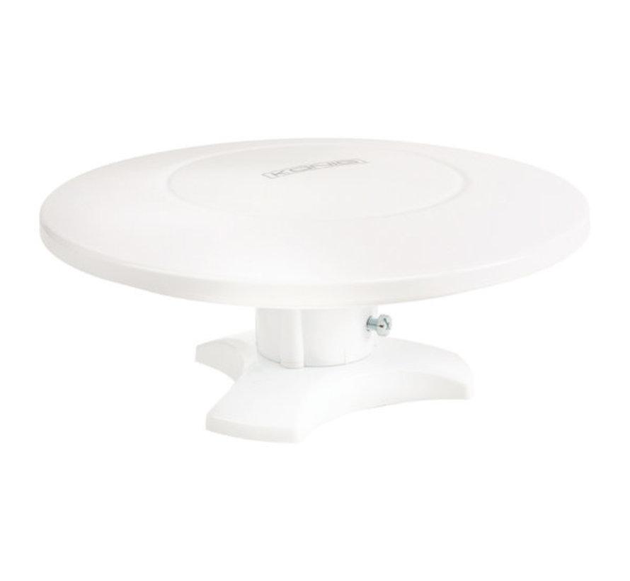 Versterkt DVB-T/T2 - DAB+ Buiten Antenne 28 dB FM / VHF / UHF