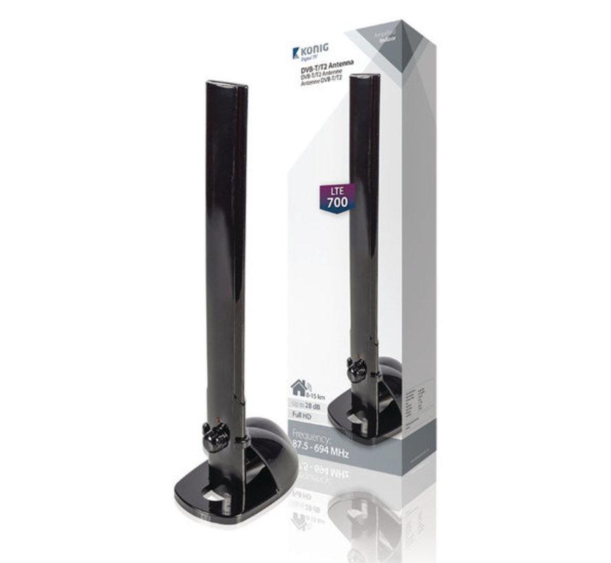 Versterkt DVB-T/T2 Antenne 28 dB UHF / VHF