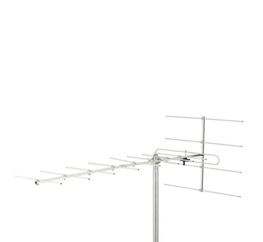 VHF Buitenantenne 12.8 dB DVB-T / DVB-T2 / VHF