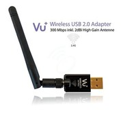 Vu+ VU+ Draadloze 300 Mbps USB adapter incl antenne