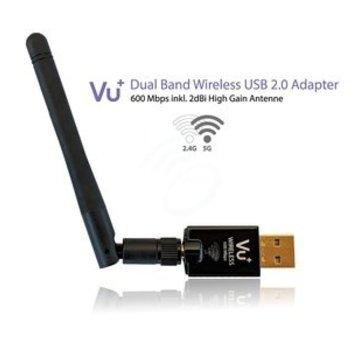 Vu+ VU+ Dual Band 600Mbps Draadloze USB 2.0 adapter