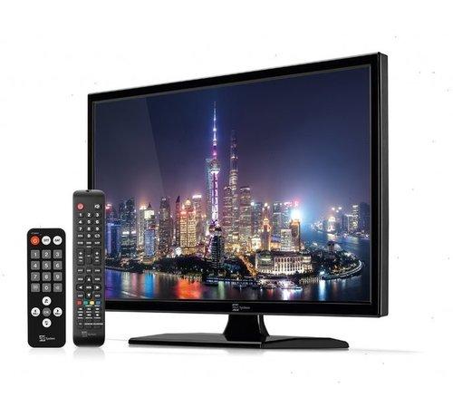 telesystems Telesystems LED09 met DVD DVB-T2/S2 HEVC DVB-T2/S2 HEVC 12v