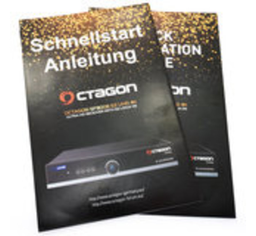 OCTAGON SF8008 4K UHD HEVC Twin DVB-S2X Dual WIFI