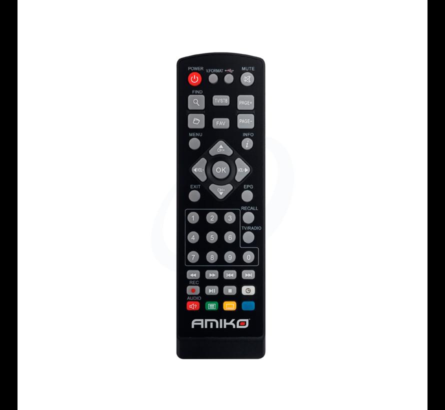 Amiko T765 - Terrestrial ontvanger en Media speler - FHD H.265