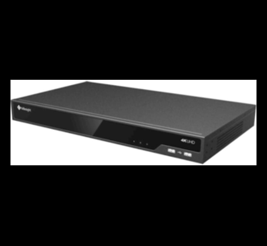 Milesight NVR + 4TB + 1 2MP Dome