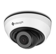 Milesight Milesight MS-C5383-PB H.265+ IR Mini Dome Network Camera 5MP
