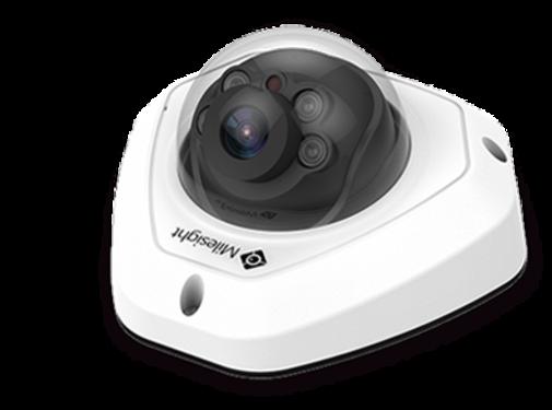 Milesight Milesight MS-C2973-PB H.265+ Vandal-proof Mini Dome Network Camera 2MP