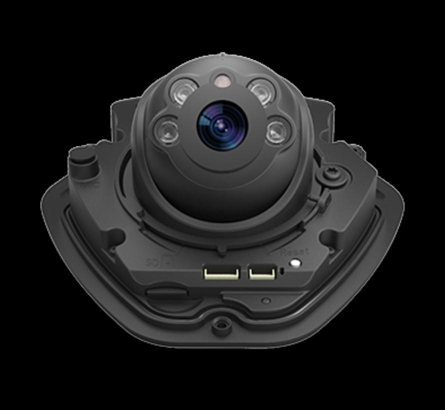 Milesight MS-C5373-PB H.265+ Vandal-proof Mini Dome Network Camera 5MP