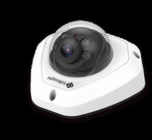 Milesight Milesight MS-C8173-PB H.265+ Vandal-proof Mini Dome Network Camera 8MP