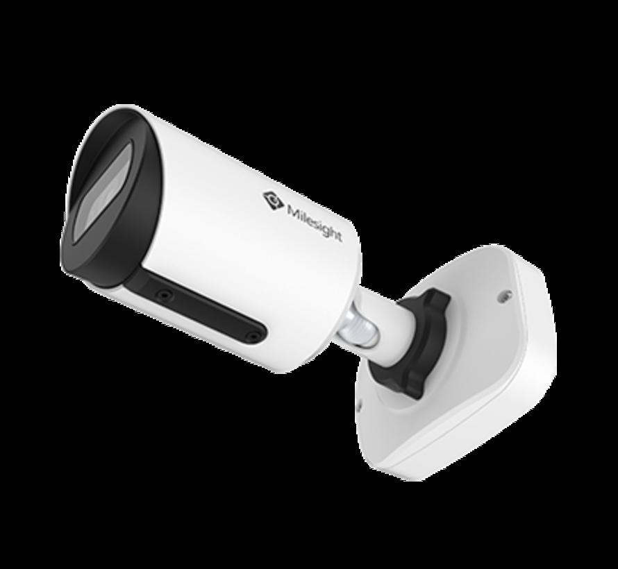 Milesight MS-C8164-PB H.265+ Vandal-proof Mini Bullet Network Camera 8MP