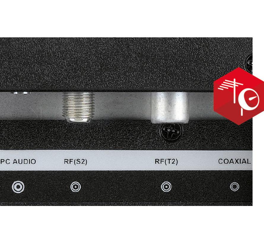 Telesystem 22 inch met DVD LED09 DVB-T2/S2 HEVC DVB-T2/S2 HEVC 12v