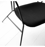 House Doctor Klever lounge chair black metal