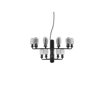 Normann Copenhagen AMP Chandelier Small hanging lamp black