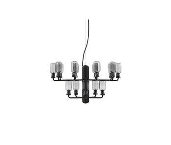 Normann Copenhagen AMP Lysekrone Liten lampe svart