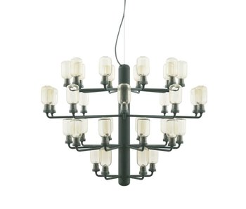 Normann Copenhagen AMP Chandelier Large hanging lamp green