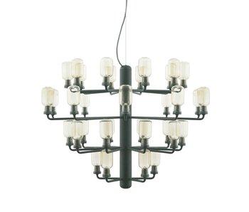 Normann Copenhagen AMP de la lámpara colgante grande de color verde claro