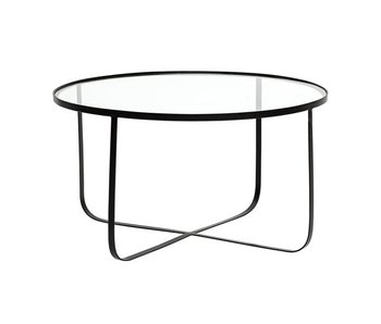 Bloomingville Harper svart glas soffbord
