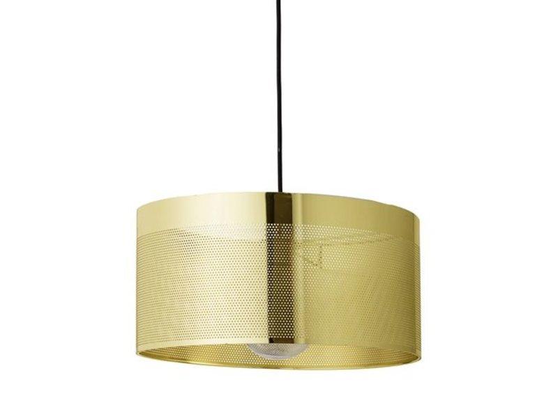 Bloomingville Hanglamp gold look