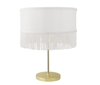 Bloomingville Table lamp gold look