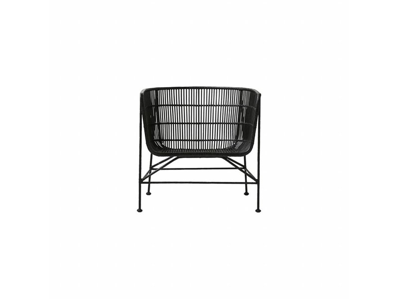 Coon Black Lounge Co Rattan House Living Chair And Doctor YvIgyf7b6