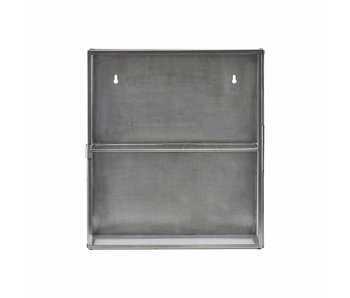 House Doctor Cabinet display zinc glass