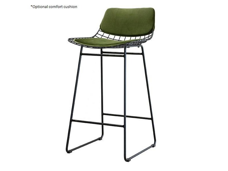 Hk Living Metal Wire Barstool Brass Living And Co