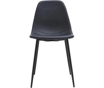 House Doctor Formulaires ensemble de chaise noire de 2