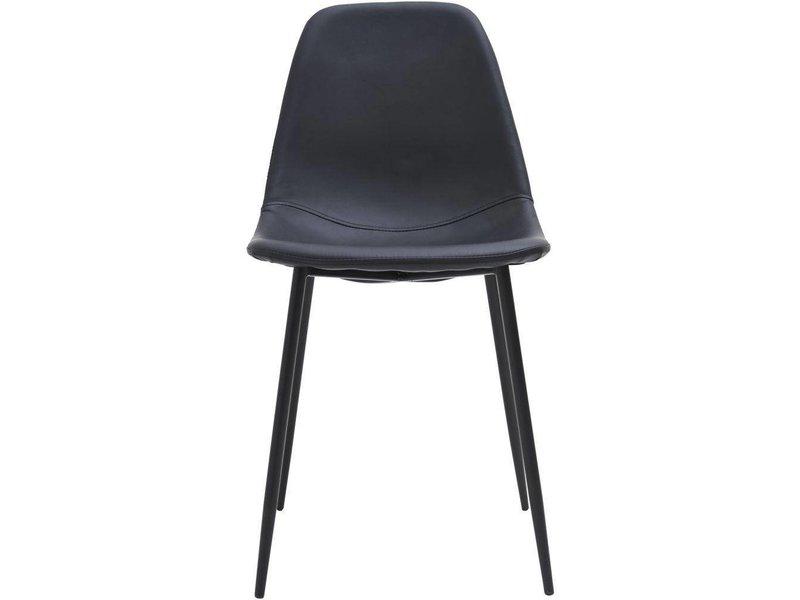 Stuhl Satz Formen Schwarzer Stühlen Zwei Von xCBeod